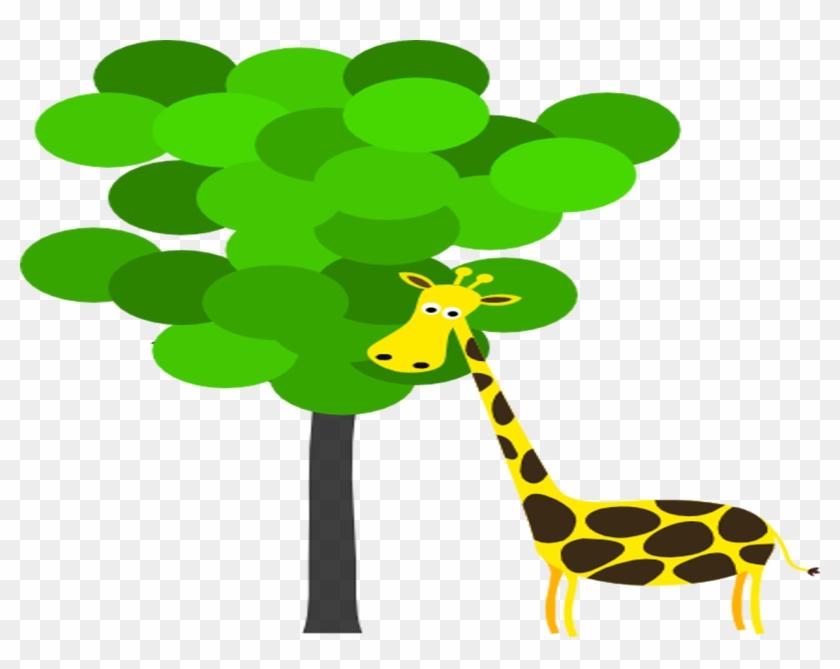 Giraffe Manor Zoo Animals Coloring Book Clip Art - Giraffe ...