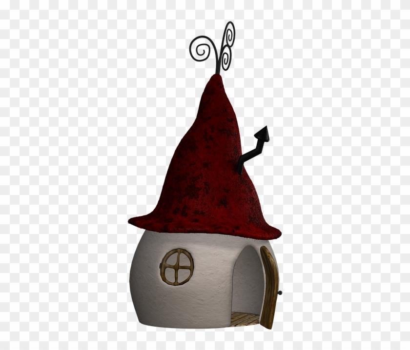 Home, Hut, Fantasy, Fairy Tales, Digital Art, Isolated - Fairy Tale #795265