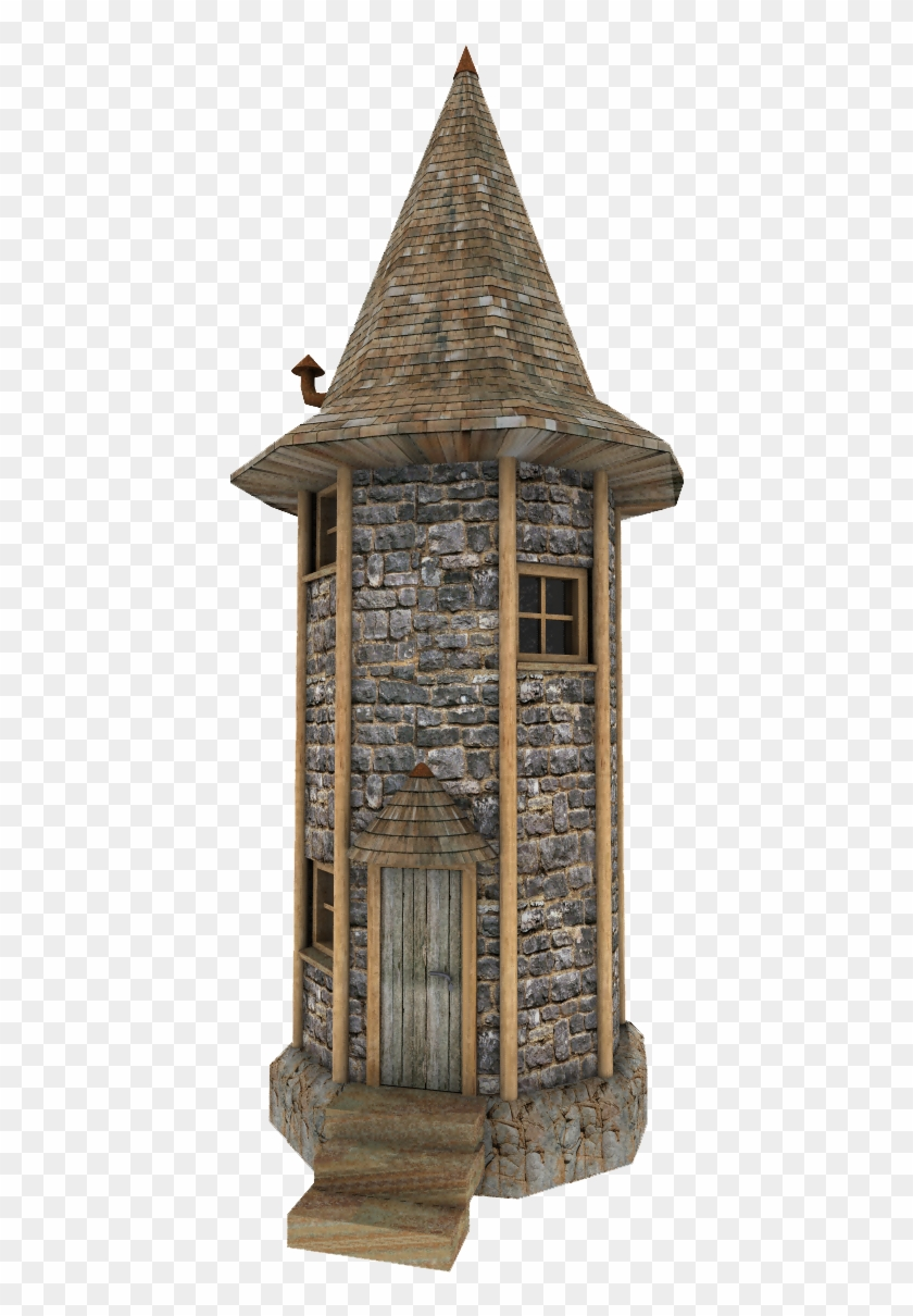 Fantasy Tower By Hbkerr - Medieval Tower Png #795348