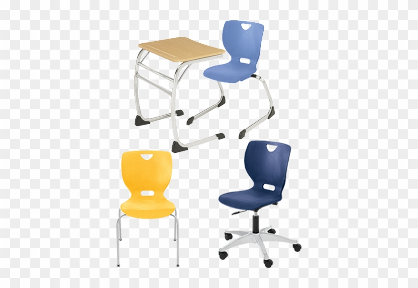 Shop Neoclass Chairs & Desks - Classroom Select Neoclass Cantilever Desk #795905