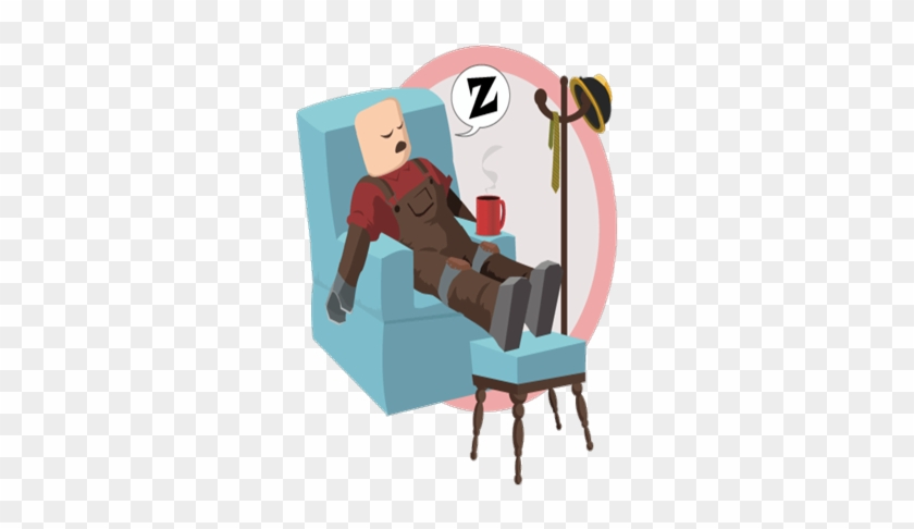 Shh Don T Wake Up Builderman Roblox Down For Maintenance Free Transparent Png Clipart Images Download