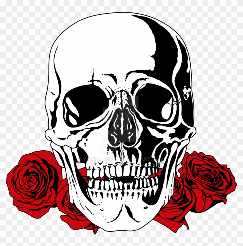 Skull /& Roses Sacrifice Grip Tape