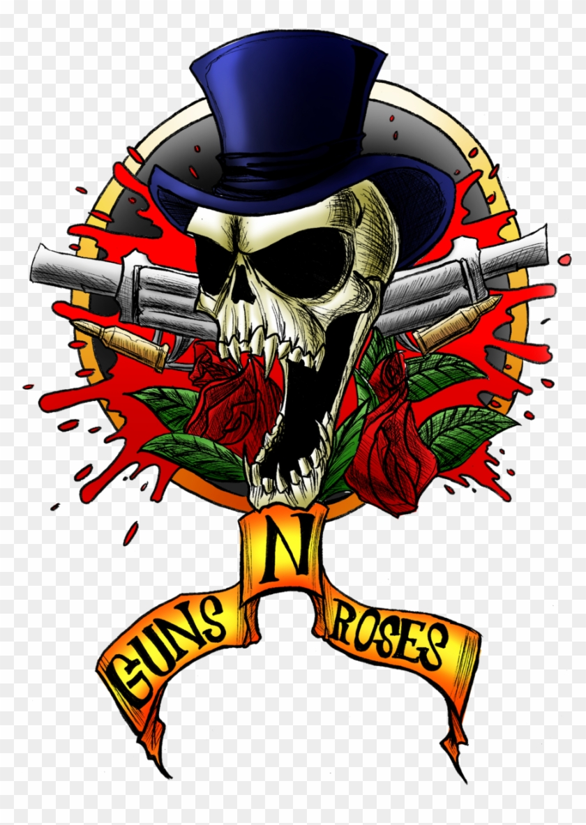 Guns N' Roses By Cyberpunk-cyborg2000 - Guns N Roses Skull #797335