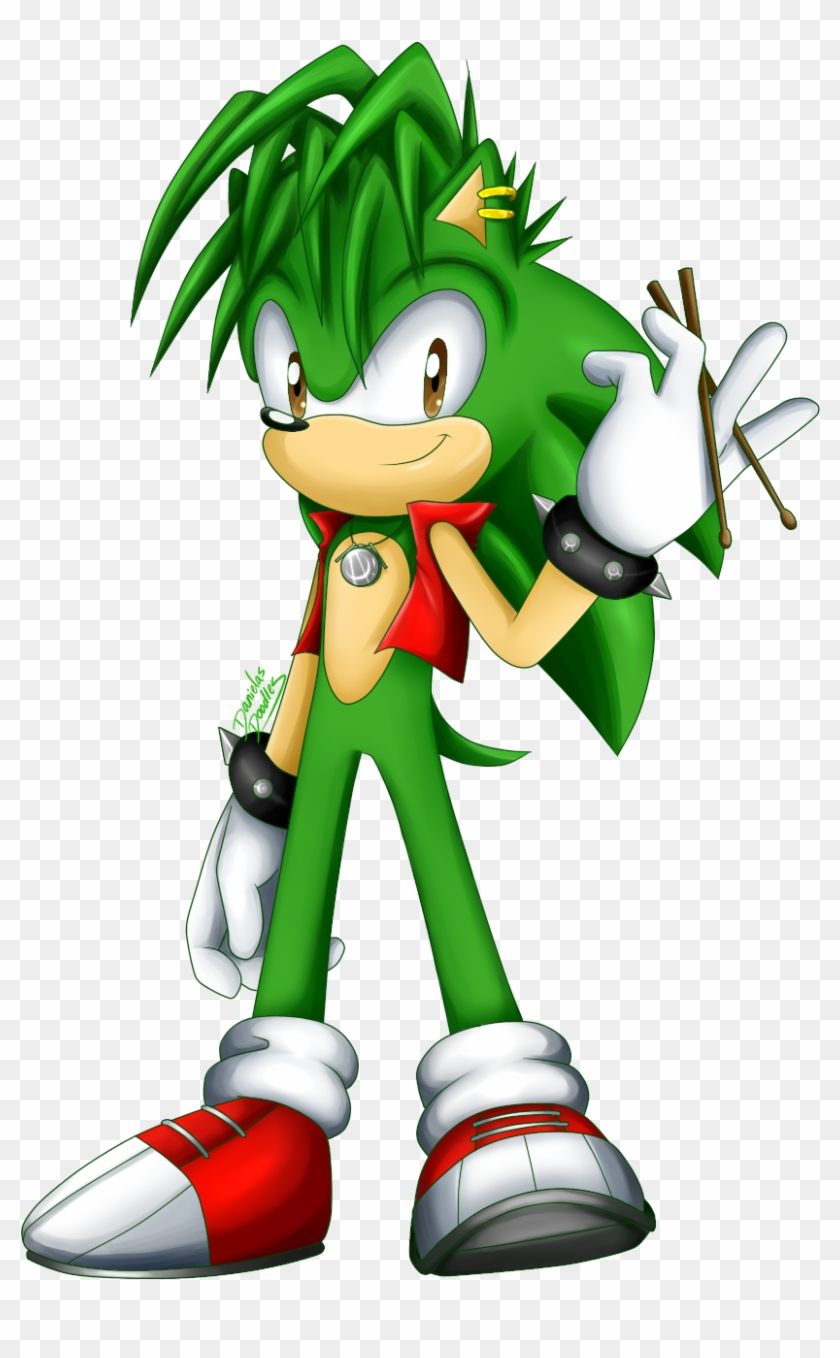 Manik By Danielasdoodles Manic The Hedgehog Sonic Boom Free Transparent Png Clipart Images Download