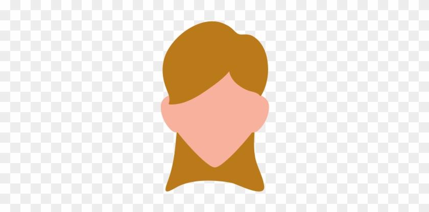 Woman Faceless Profile Icon - Illustration #798347