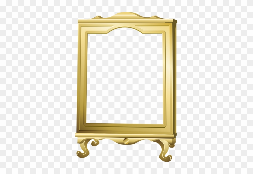 vector graphics of freestanding mirror with wooden wood photo