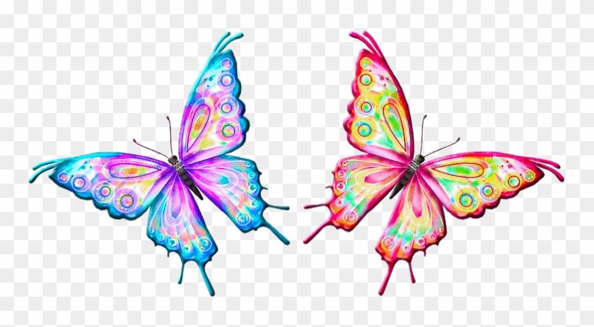 Postado Por Rejane Às - Flapping Butterfly Animated Gif #800289