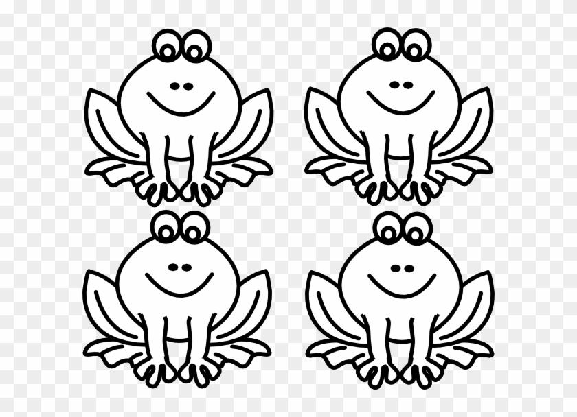Frog Outline Embroidery Design #800298