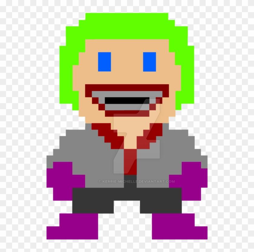 Super Mario Joker By Kerrie-michelle - Super Mario Bros 80s #800333