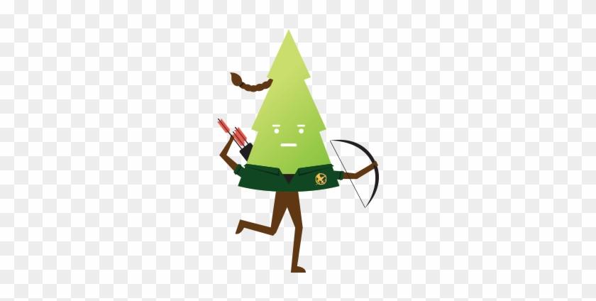 Katniss Evergreen - Christmas Tree #801032