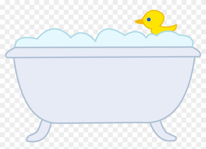 Bubble - Cartoon Bathtub With Bubbles - Free Transparent PNG Clipart ...