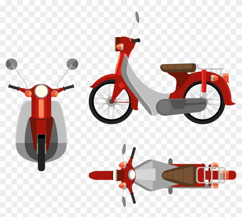 scooter motorcycle illustration motorcycle top view vector free transparent png clipart images download scooter motorcycle illustration