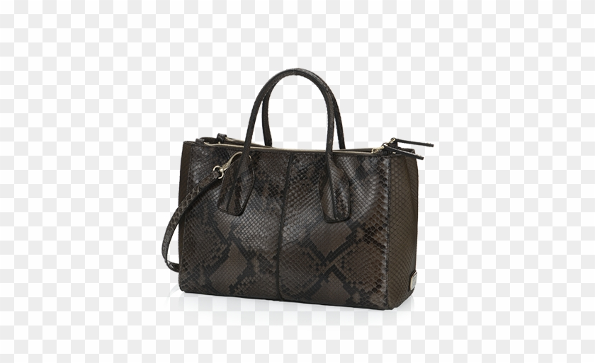 Factory Tod Sella Medium Bowlertasche In Leather Coffee - Bag #802788