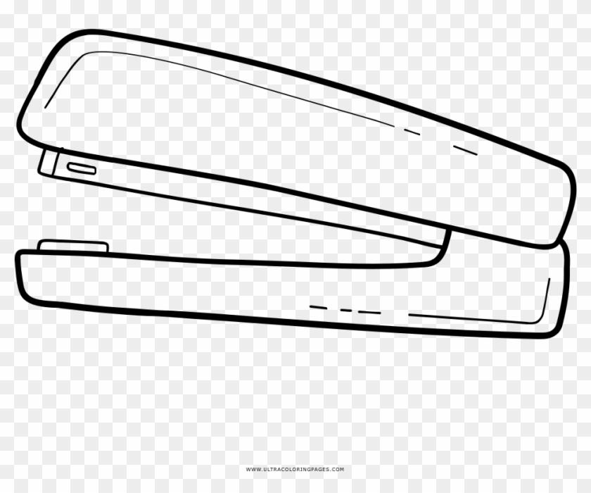Stapler Coloring Page - Stapler Coloring Page #802978