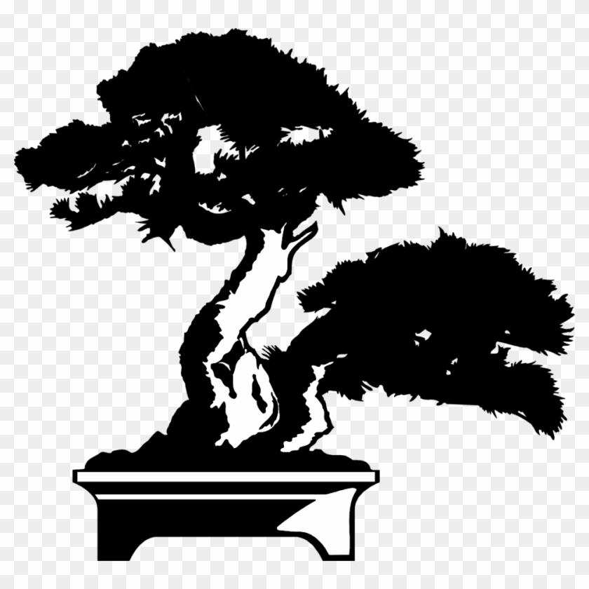 Pin Bonsai Tree Clip Art - Free Bonsai Tree Clip Art #803665