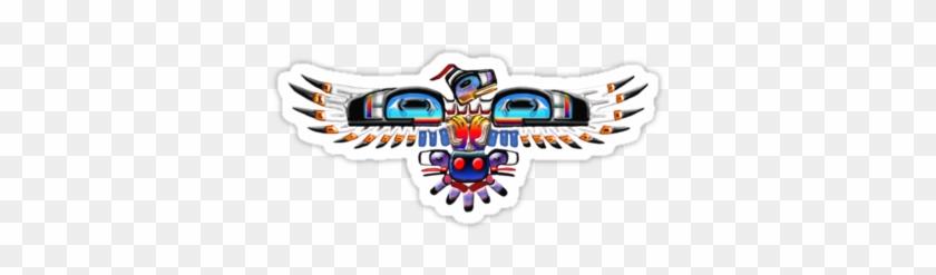 Sticker Of Native American Bird Symbol - Native American Bird Symbols #804337