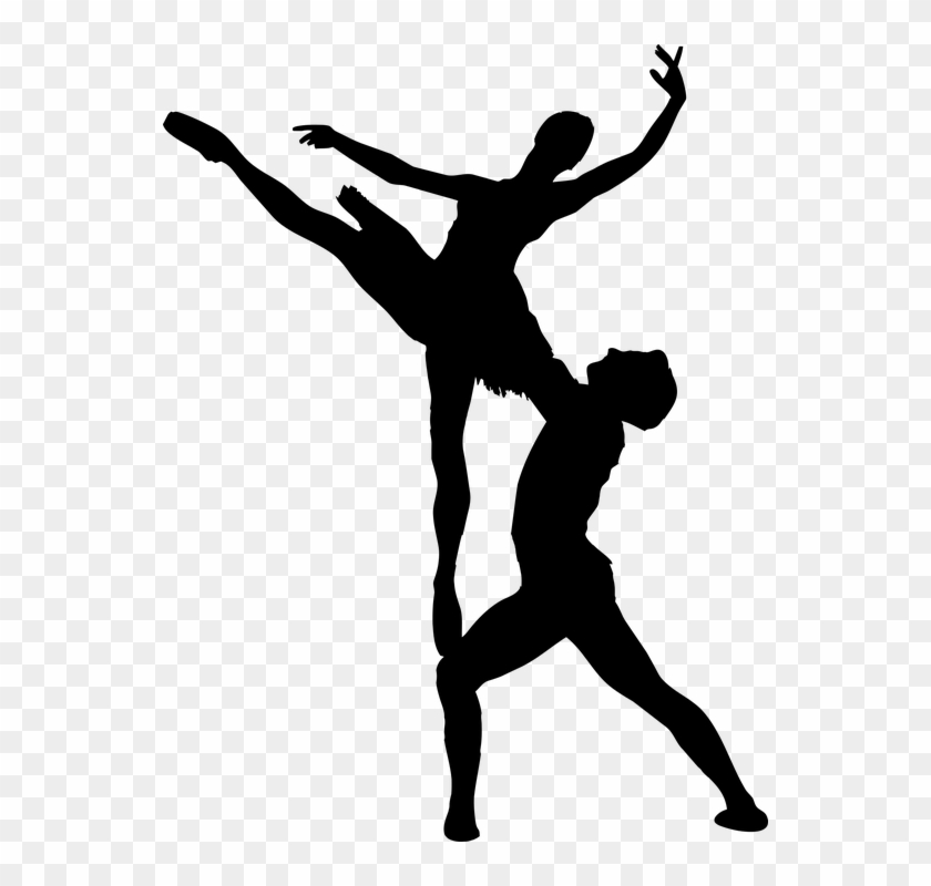 Free Vector Graphic - Ballet Silhouette Png #805615