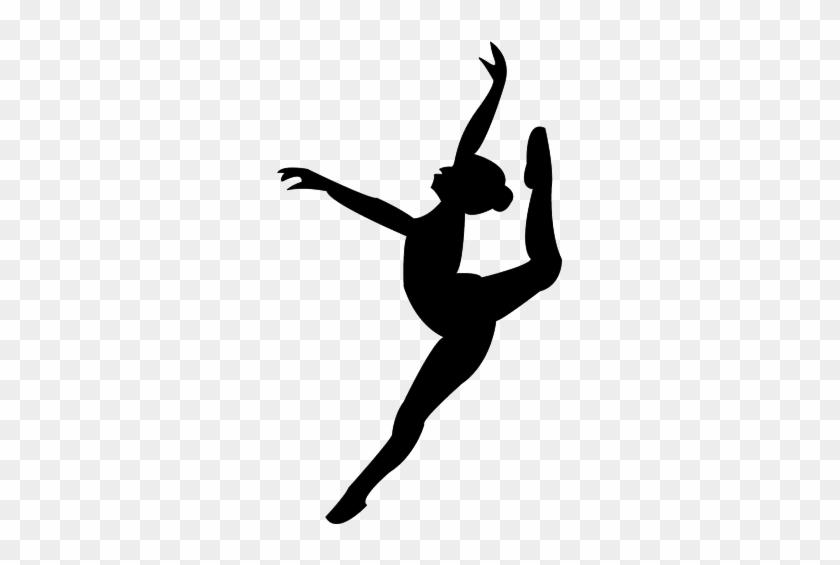 Leap Dance Silhouette Dancer Silhouette Free Transparent Png Clipart Images Download