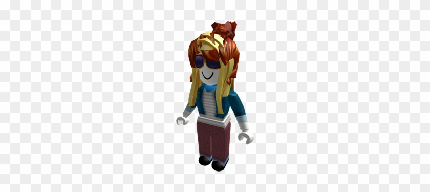 Chestnut Bun Roblox Bacon Hair Girl Free Transparent Png Clipart Images Download