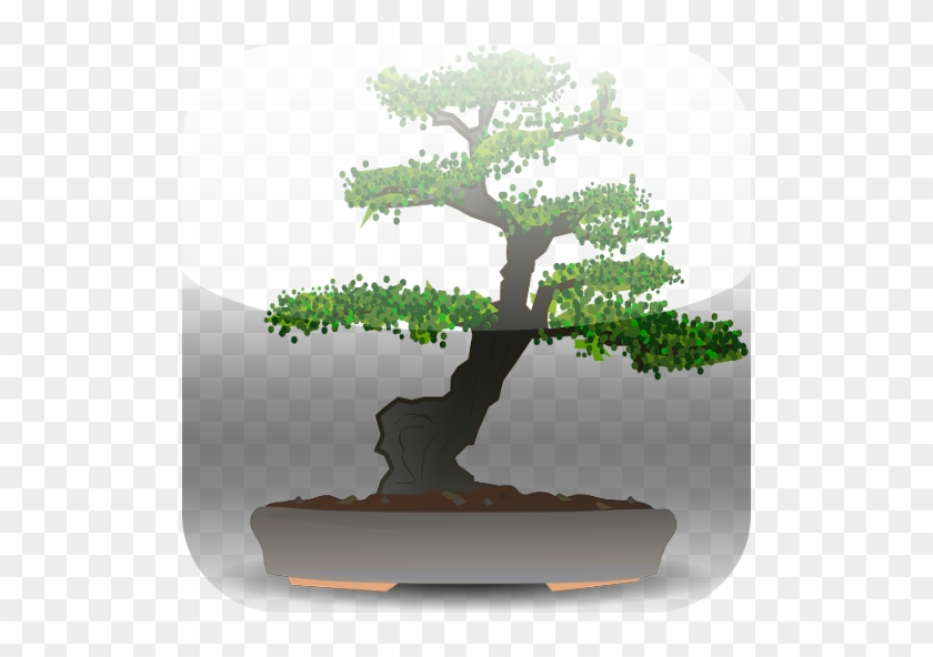 Bonsai Tree Round Ornament #806509