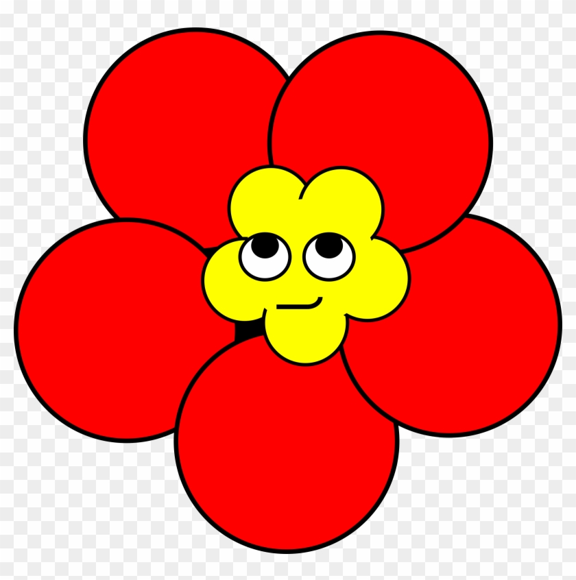 Poppy Smirk Poppy Flower With A Face Free Transparent Png