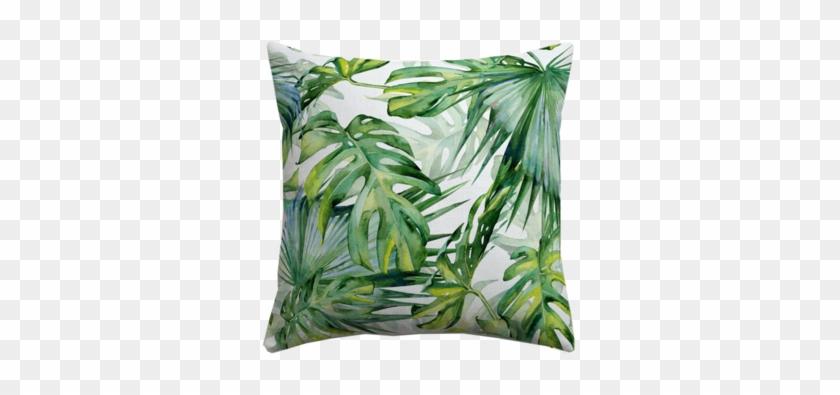 Mix & Match Cushion Covers - Palm Tree Wallpaper Pink #807190