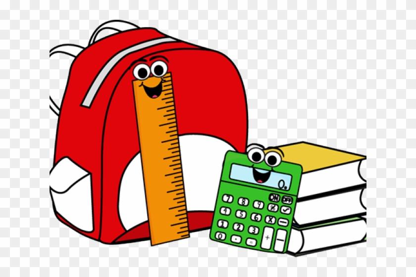 School Items Clipart - School Supplies Clipart #807689