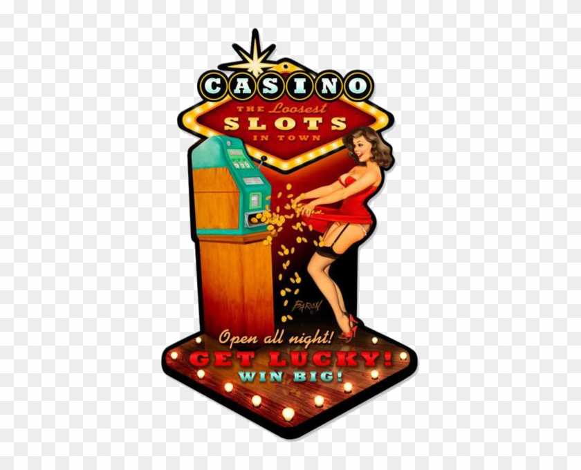 Retro Tin Sign - Past Time Signs Bvl022 Casino #808239