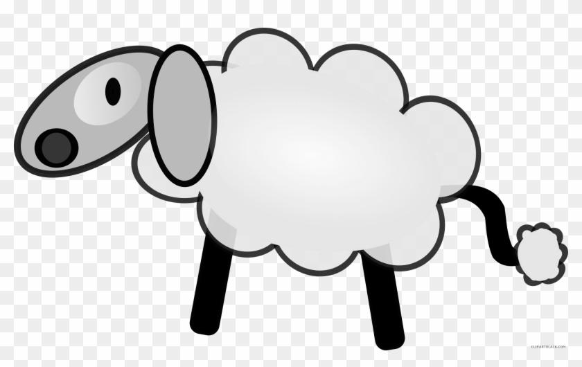 Sheep High Quality Animal Free Black White Clipart Mouton Porte Cle En Bois Frene Et Resine Porte Clef Free Transparent Png Clipart Images Download