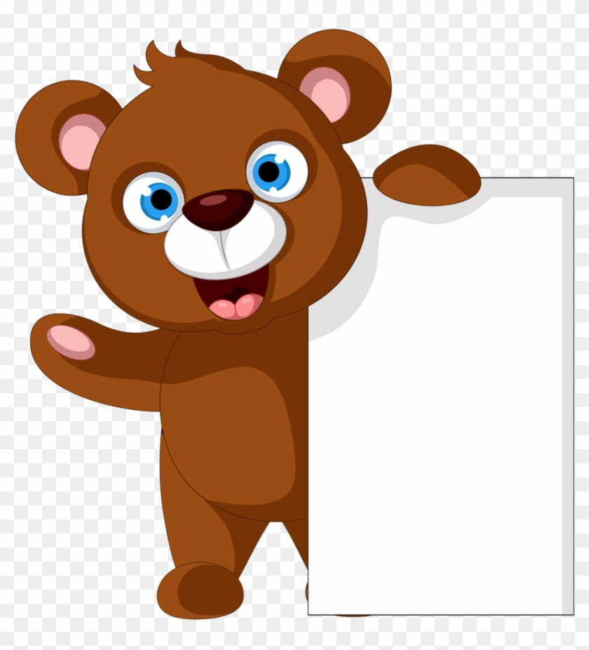 Cartoon Wild Animal Holding Blank Sign Royalty Free Cliparts, Vectors, And  Stock Illustration. Image 30337569.