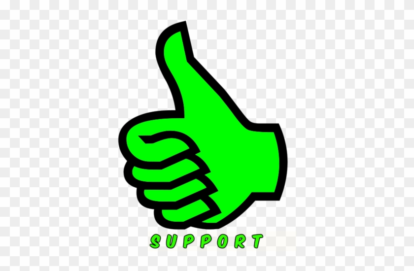 File - Support - Thumbs Up Symbol #809947