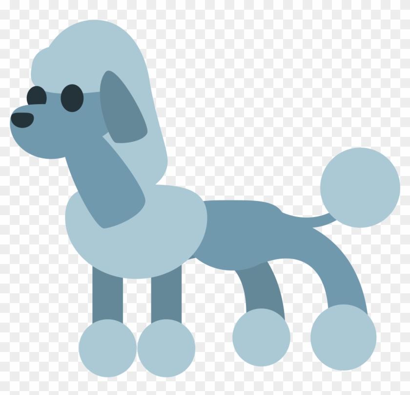 Cartoon Poodle - Wikimedia Commons #810683
