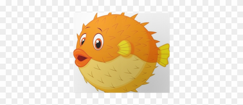Cartoon Puffer Fish #811075
