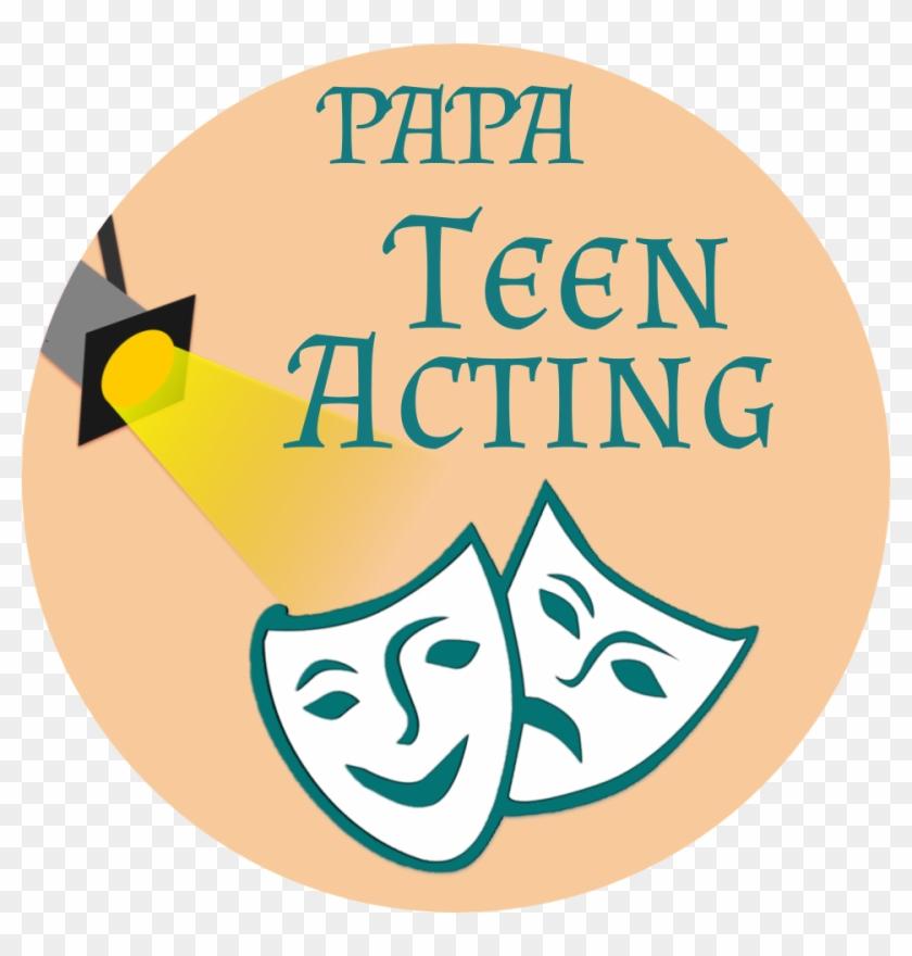 Papa Teen Acting - Drama Masks #812079