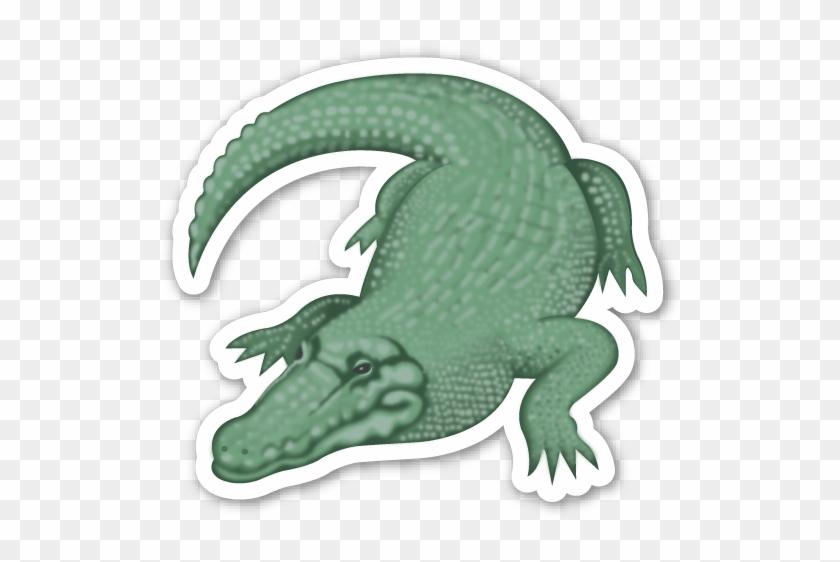 Crocodile - Crocodile Emoji Tattoo #812129