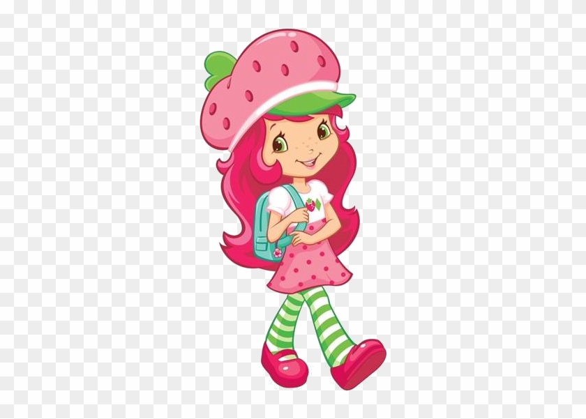 Back To School With Strawberry Shortcake And Her Berry - Strawberry Shortcake At School #812490