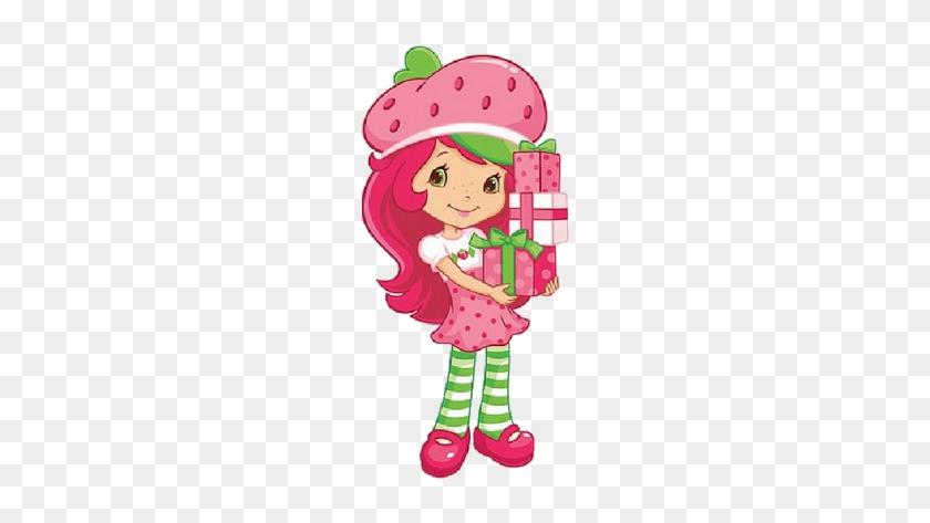 Elegant Strawberry Cartoon Girl Strawberry Shortcake - Dibujos De ...