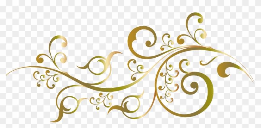 Wedding Invitation Flower Floral Design Gold Design For Invitation