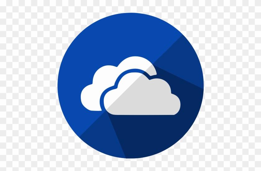 Social Media Pro Icons - Microsoft Onedrive App Icon - Free