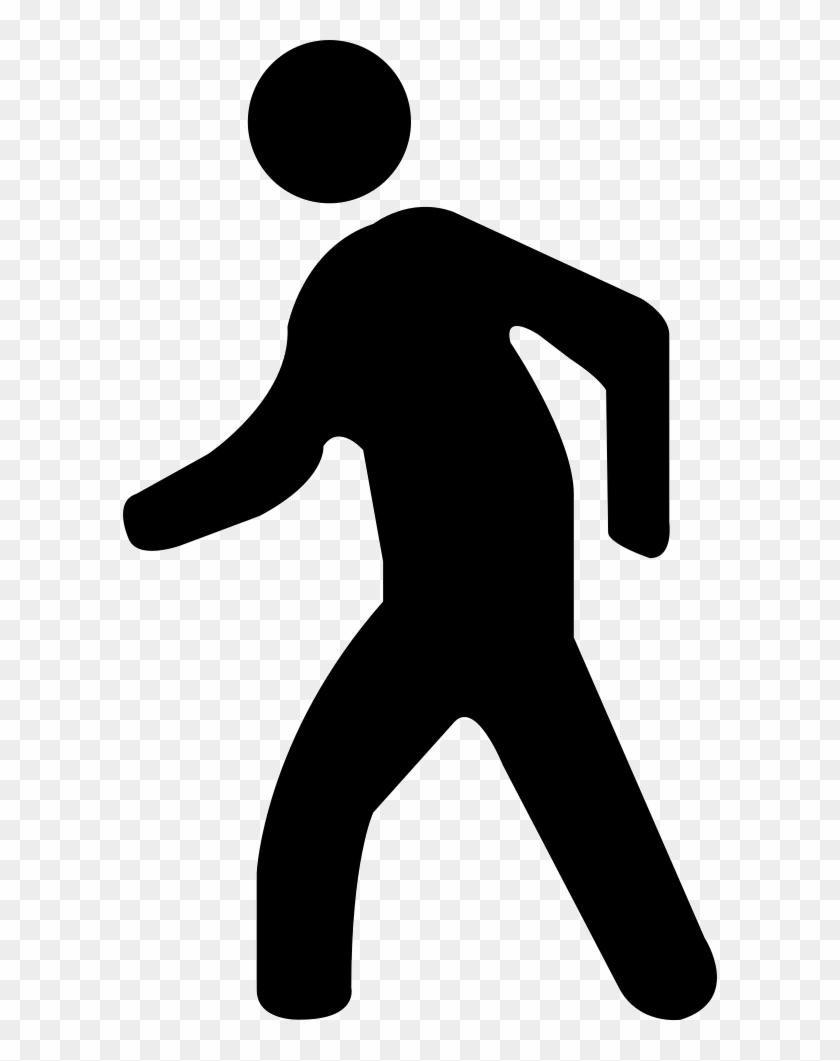 stick figure walking silhouette clip art silueta de una persona