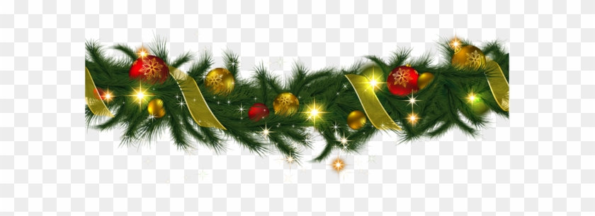 Christmas Backgrounds Png.Christmas Ornaments Clipart Border Christmas Garland