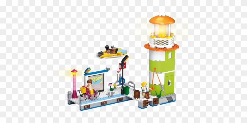 Sluban Lighthouse M38-b0607 - Sluban Building Blocks Girl's Dream #814922
