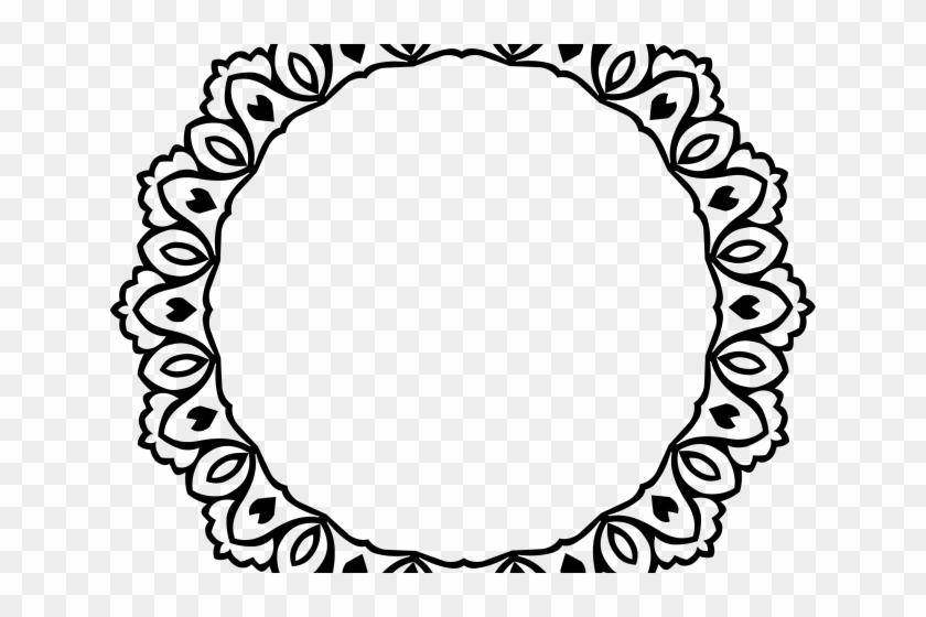 Shapes Clipart Vintage - Decorative Circle Border - Free ...