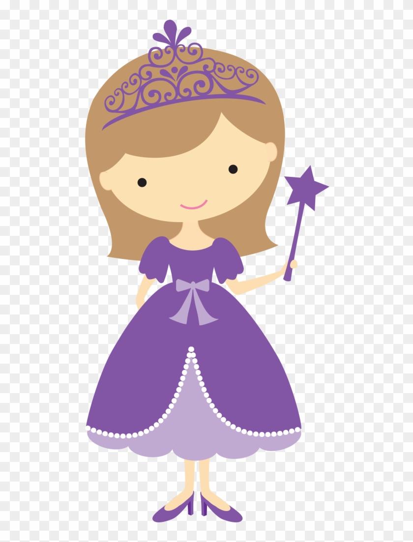 Princess Clipart Pretty Princess - Purple Princess Clipart #815016
