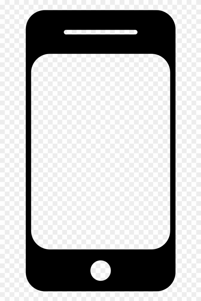 Mobile Learning And The Flipped Classroom - Cell Phone Icon Png #815454