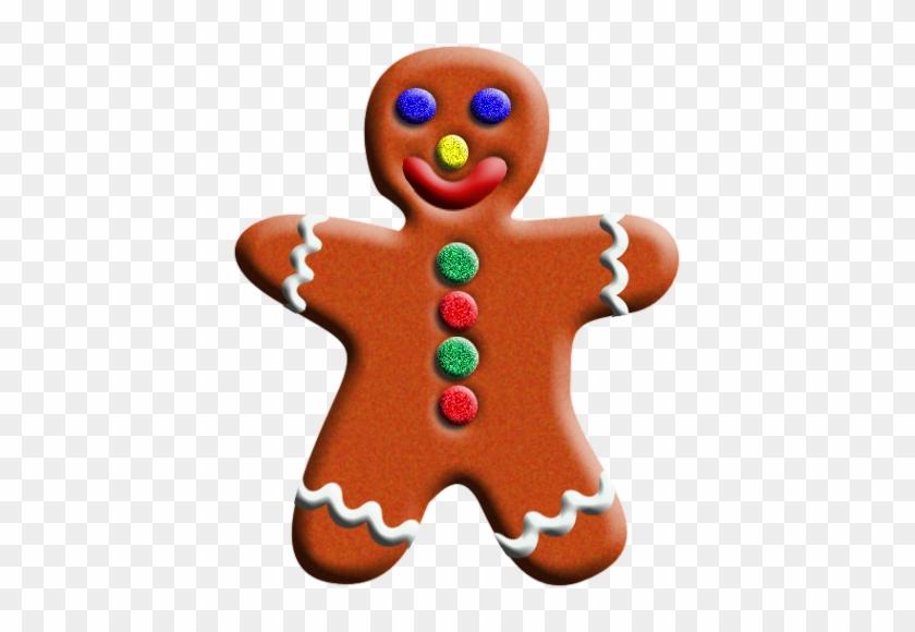 Gingerbread Man December Clipart Free Clip Art Images - December Clip Art Free #147048