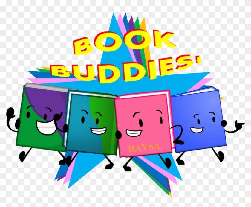 Book Buddies Cliparts - Book Buddies Clip Art #147185