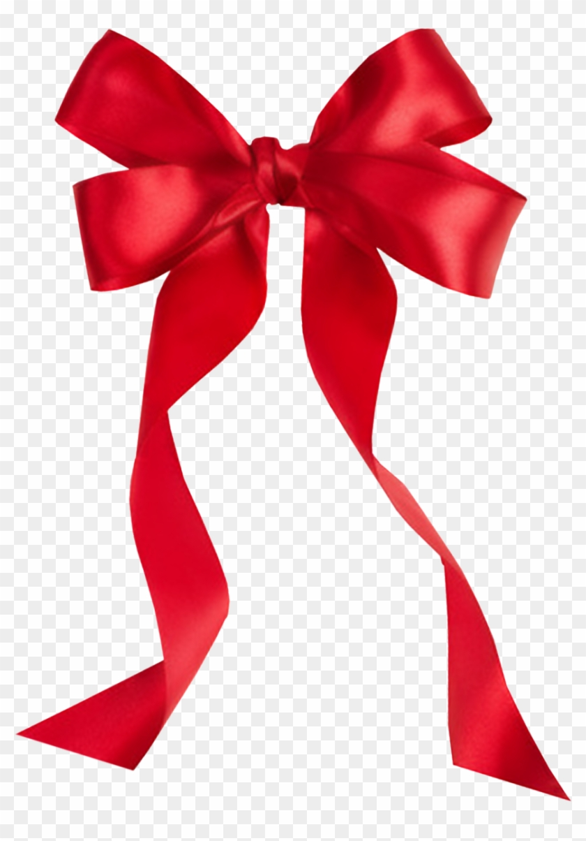 Red Bow Png Image - Red Ribbon Bow Clipart #147188