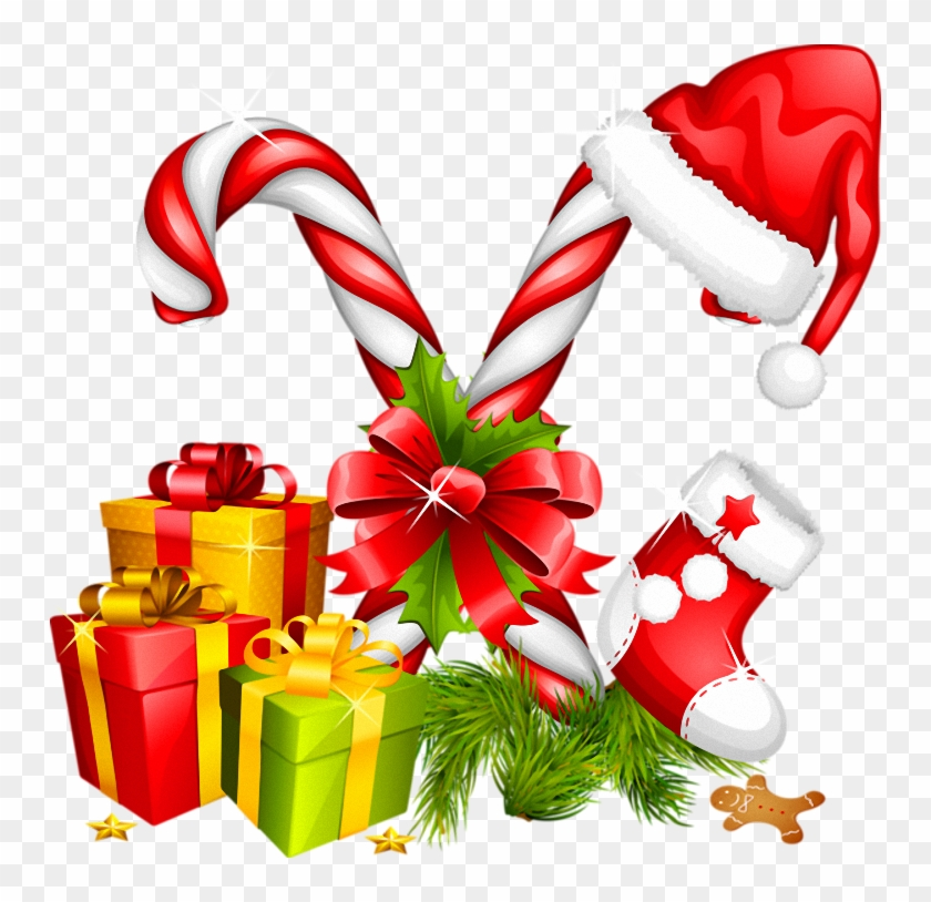 Candy Cane Clipart Christmas Stuff - Happy Holidays To Coworkers #147291
