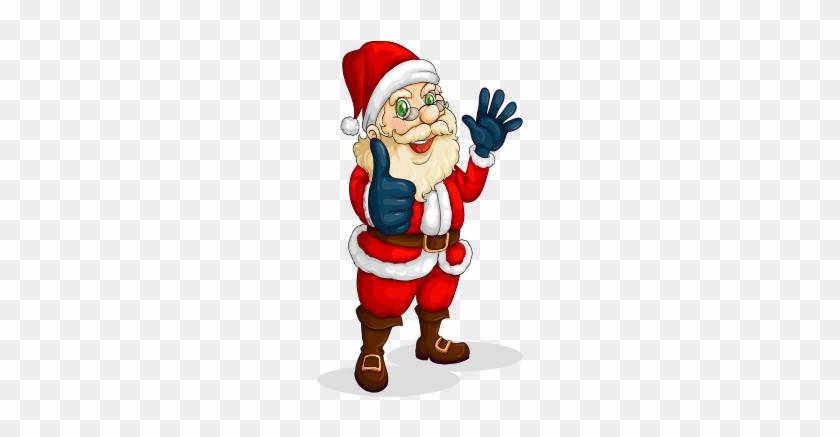 Santa Claus Reindeer Christmas Drawing - Christmas Day #147486